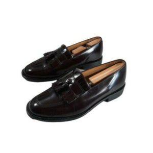 Bostonian Mens Loafers Leather Tassel Kiltie Shoes